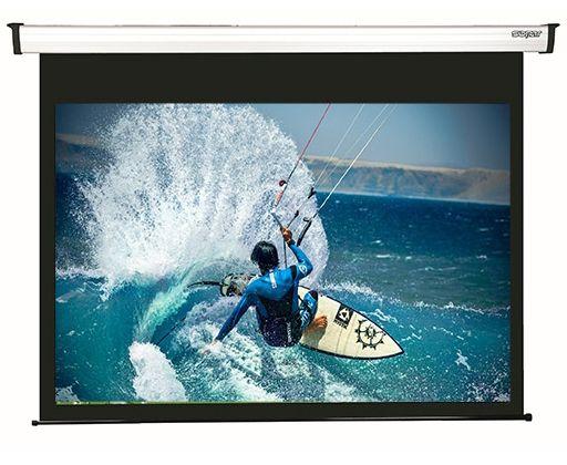155x190 cm formato 1:1 schermo a motore bordato NEW GOLD NEMA (173 cm)