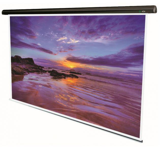 160x160 cm formato 1:1 Schermo elettrico LORENZO (173,9 cm) telecomando incluso
