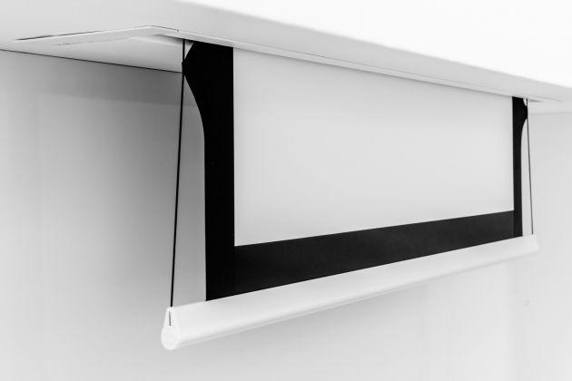 180x135 cm formato 4:3 Schermo Tensionato Bordato InCeiling Screen Tensioned (203 cm)