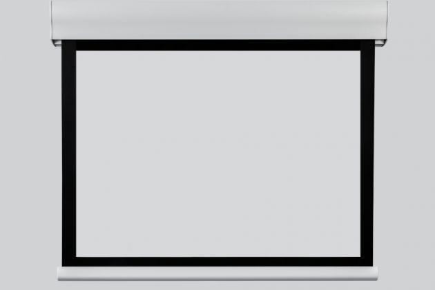 244x153 cm formato 16:10 Schermo a Motore con bordi neri WAVE (264 cm)