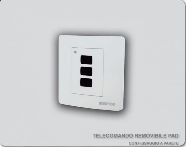 TELECOMANDO REMOVIBILE PAD
