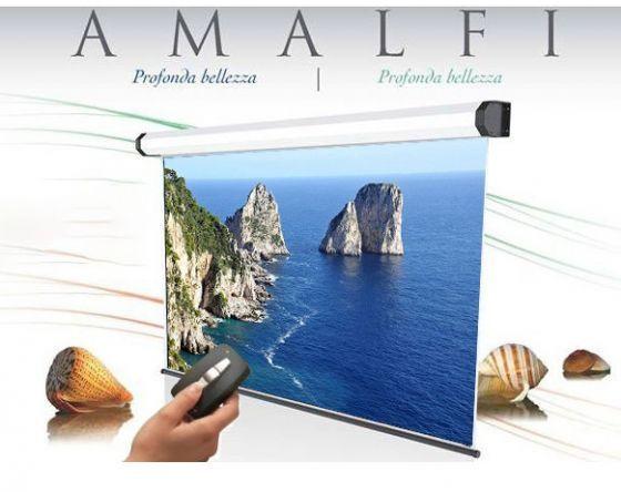 300x188 cm formato 16:10 schermo a motore Amalfi radiocomando integrato (319,5 Cm)