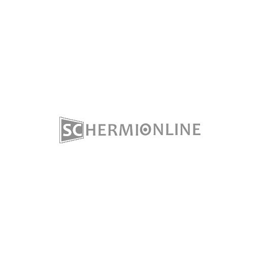 Tela bianca retro nero in PVC