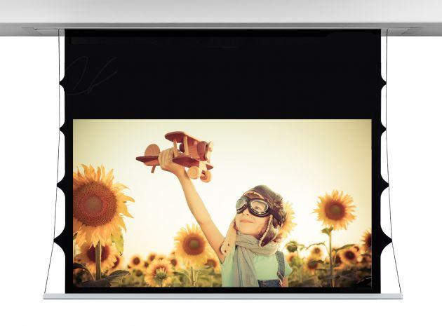 244x137 cm formato 16:9 Schermo InCeiling Screen Tensio TELA RADIANCE - DROP 10 CM (276CM)