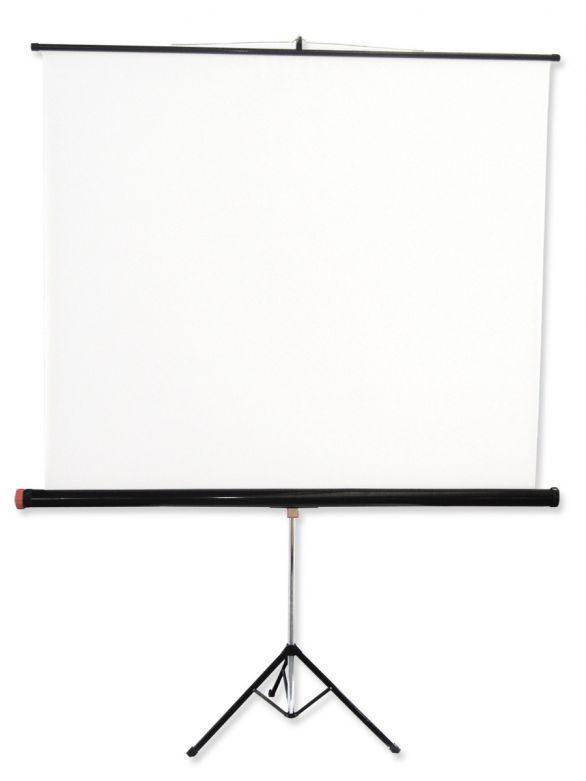 125x125 cm in formato 1:1 Schermo a Treppiede Tripod